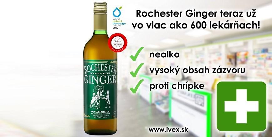 Ginger v lekárňach